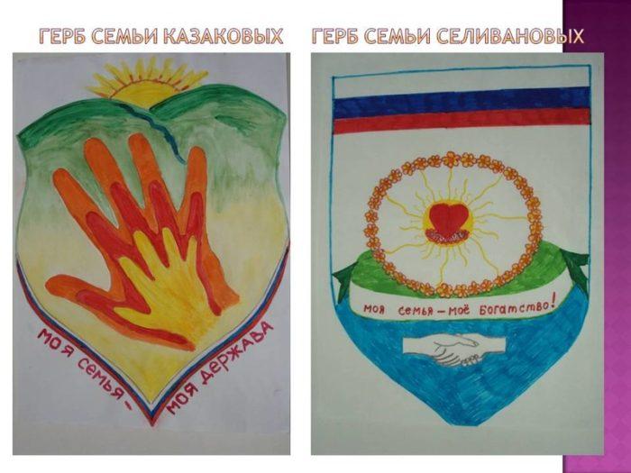 герб семьи и девиз семьи картинки с описанием недорого